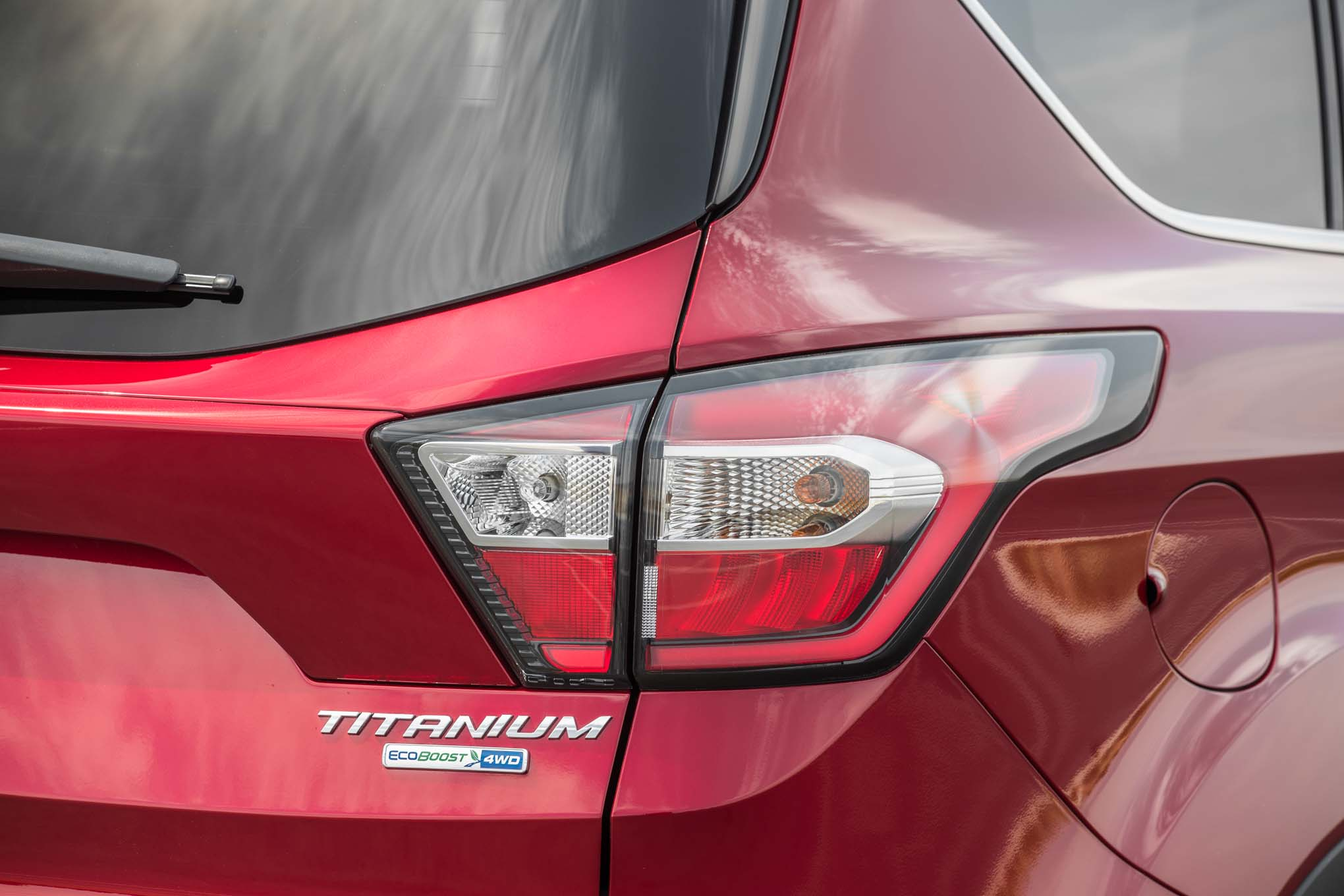 2017 Ford Escape Anium 20 Ecoboost Rear Taillight