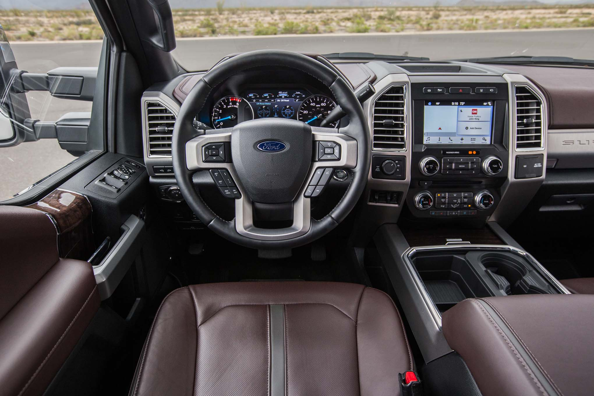 2017 Ford F 250 Platinum 4x4 67l Cockpit 72 Motor Trend