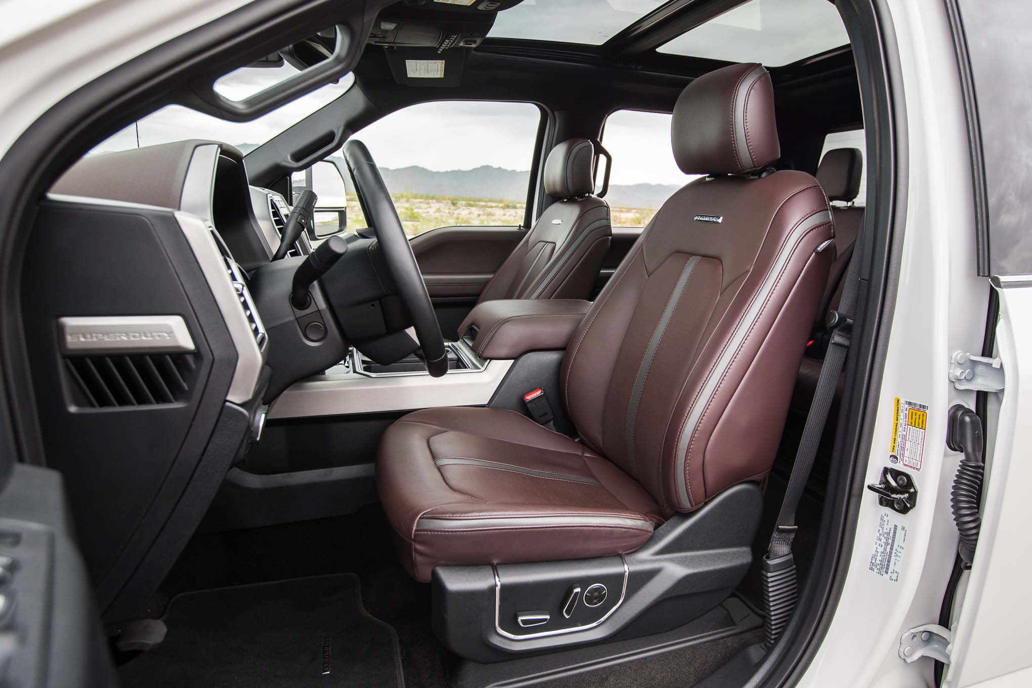 2017 Ford F 250 Platinum 4x4 67l Front Interior Seats 70