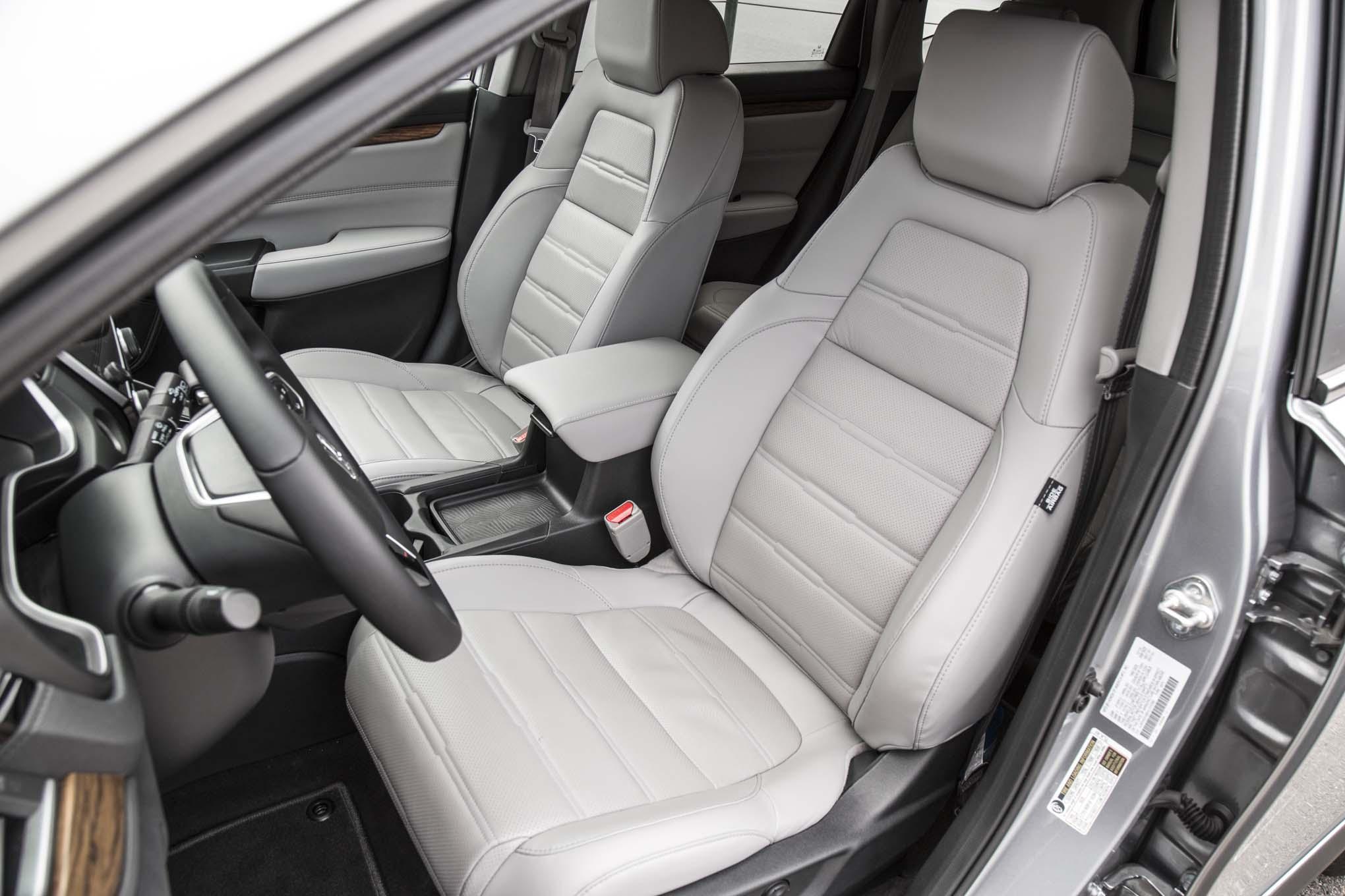 2017 Honda Cr V Touring Awd Front Interior Seats Motor