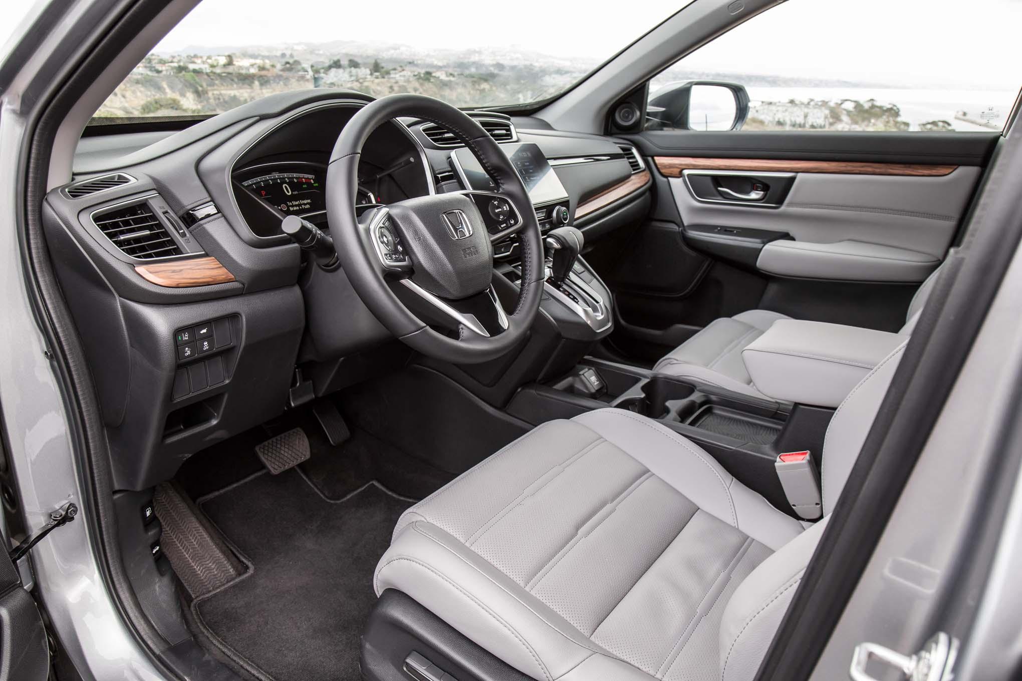 2017 Honda Cr V Touring Awd Interior Motor Trend En Espa 241 Ol