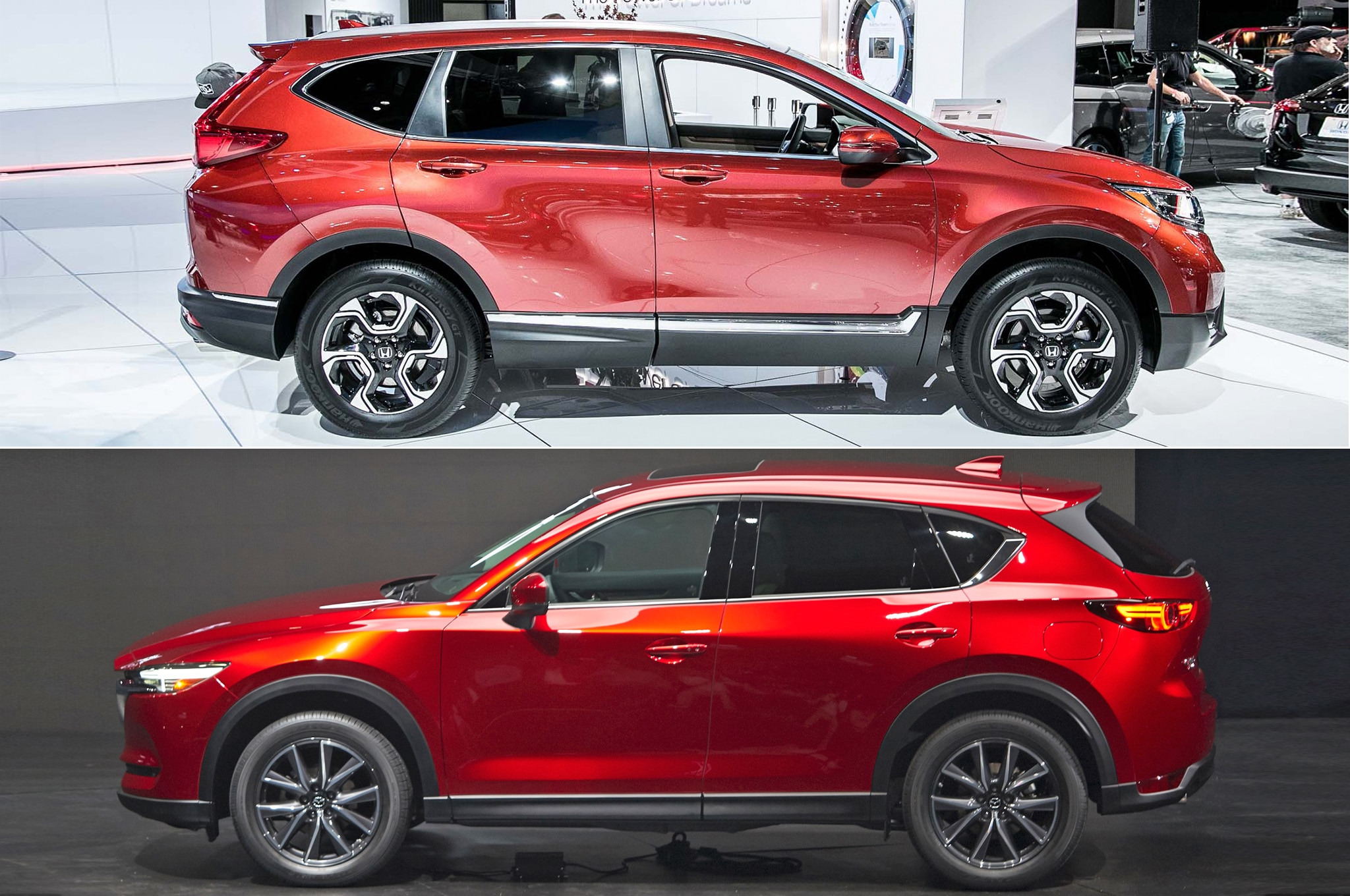 2017 Honda CR V Vs 2017 Mazda CX 5