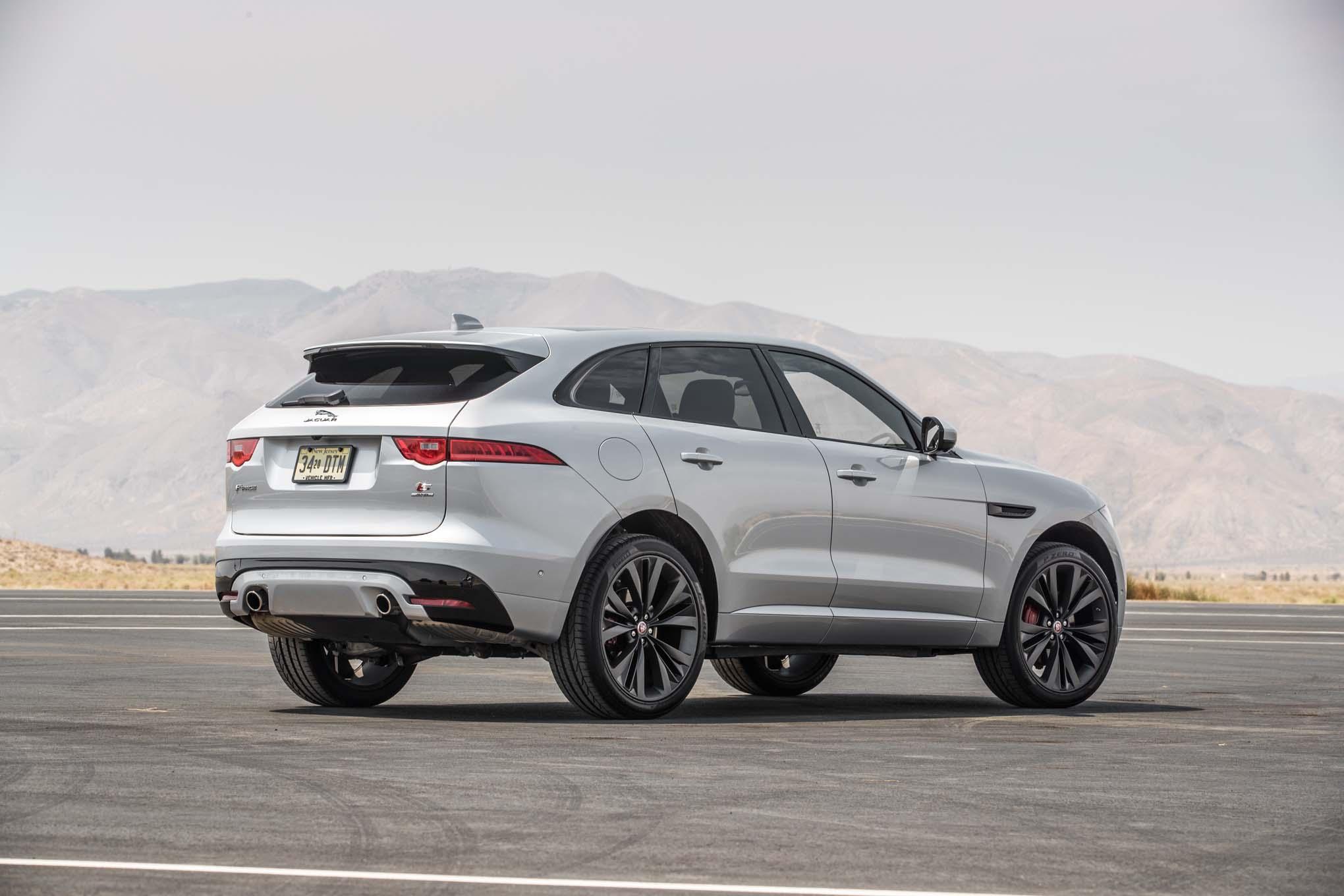 Jaguar F-Pace: Finalista a la SUV del Año de Motor Trend ...