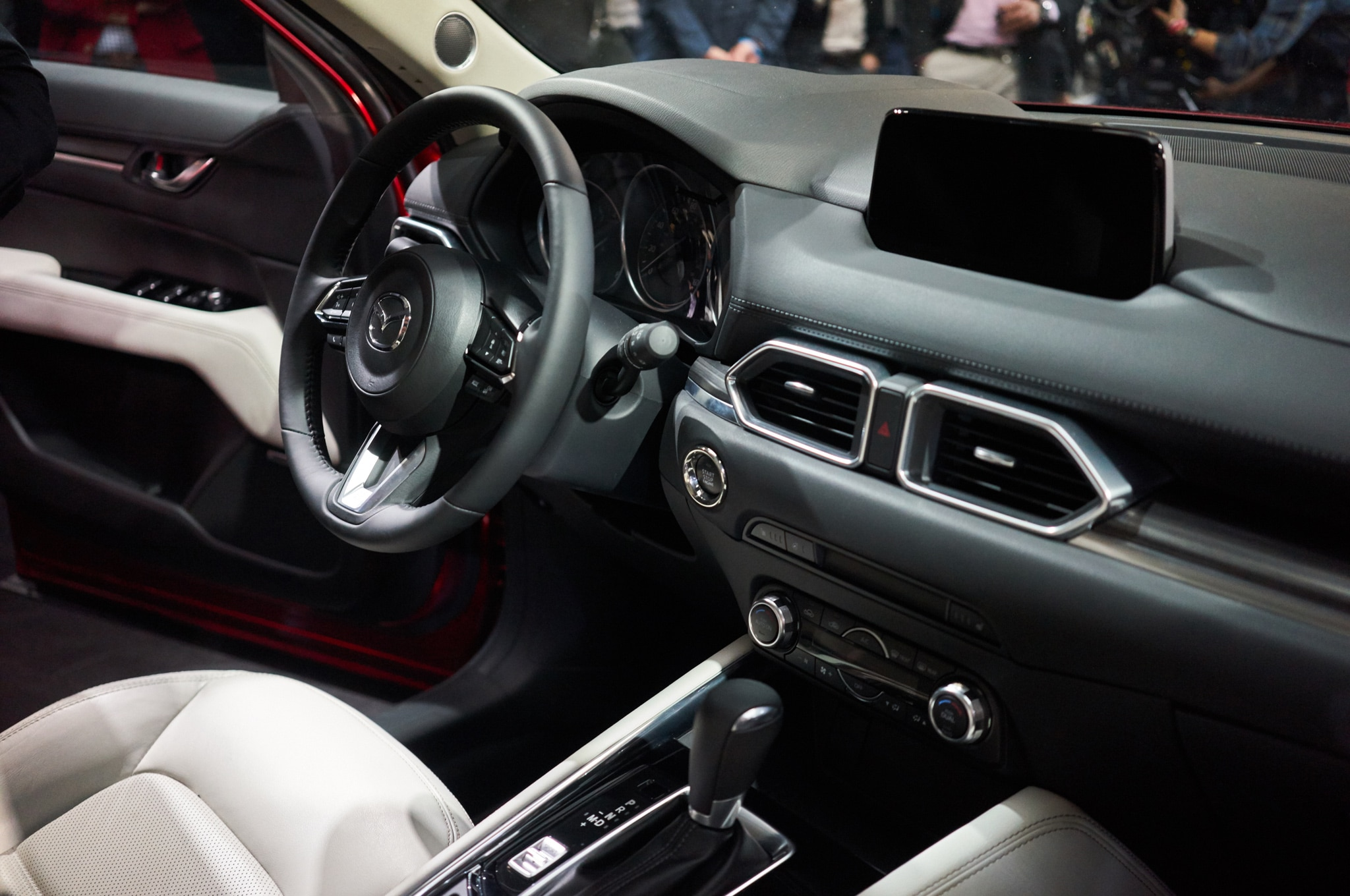 2017 Mazda CX 5 interior from passenger seat