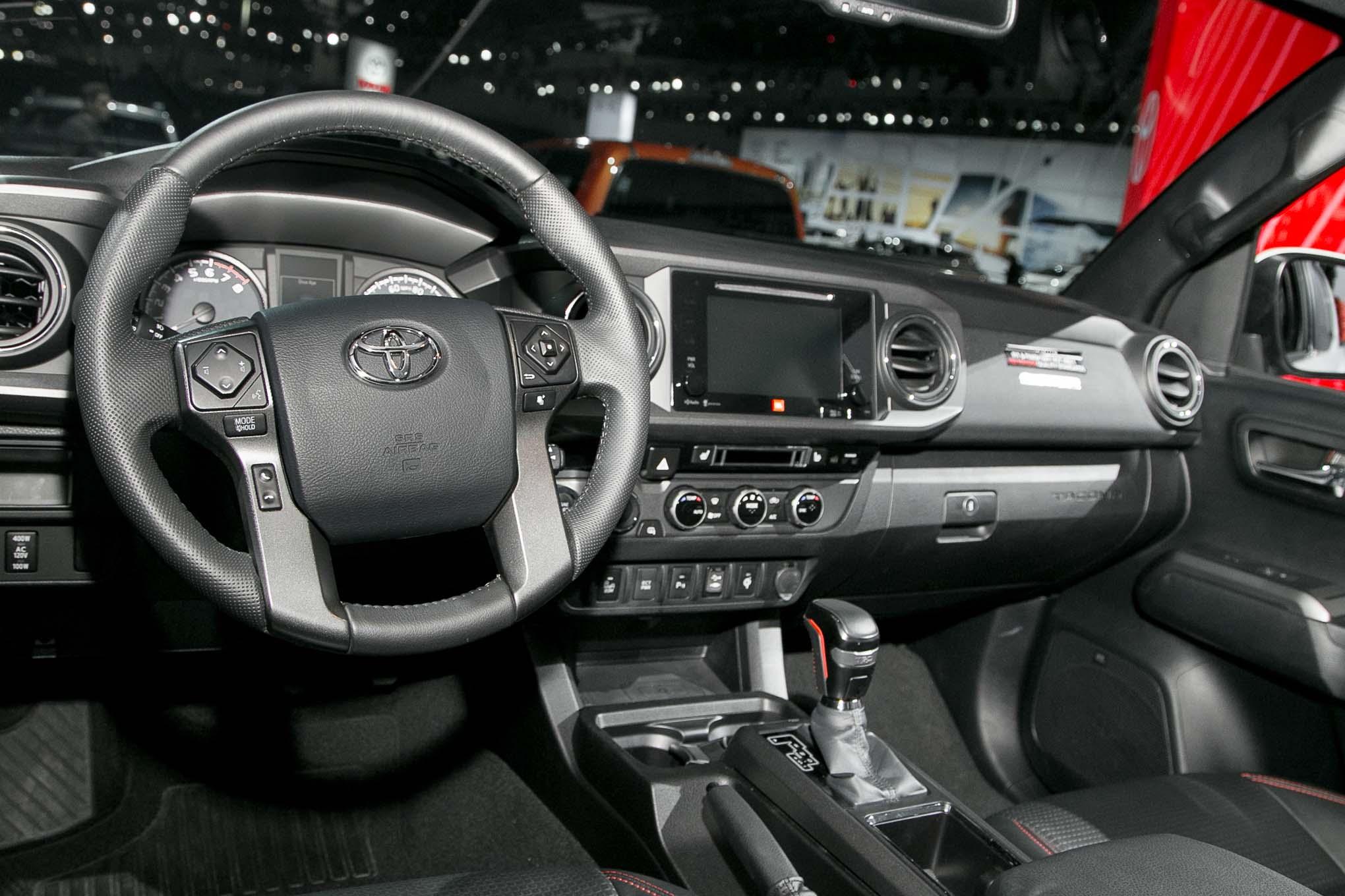 2017 Toyota Tacoma TRD Pro interior