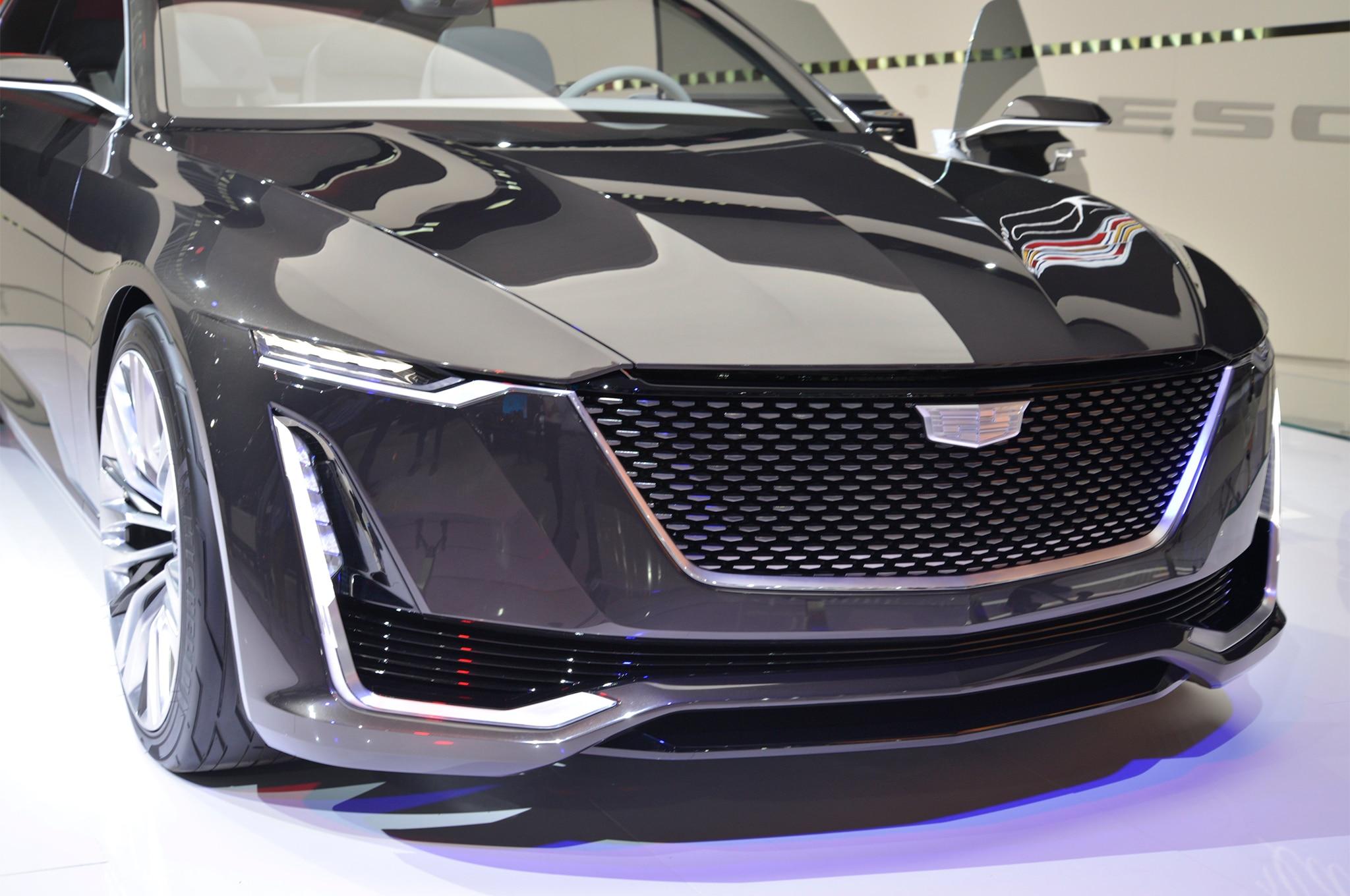Cadillac Escala concept front grille