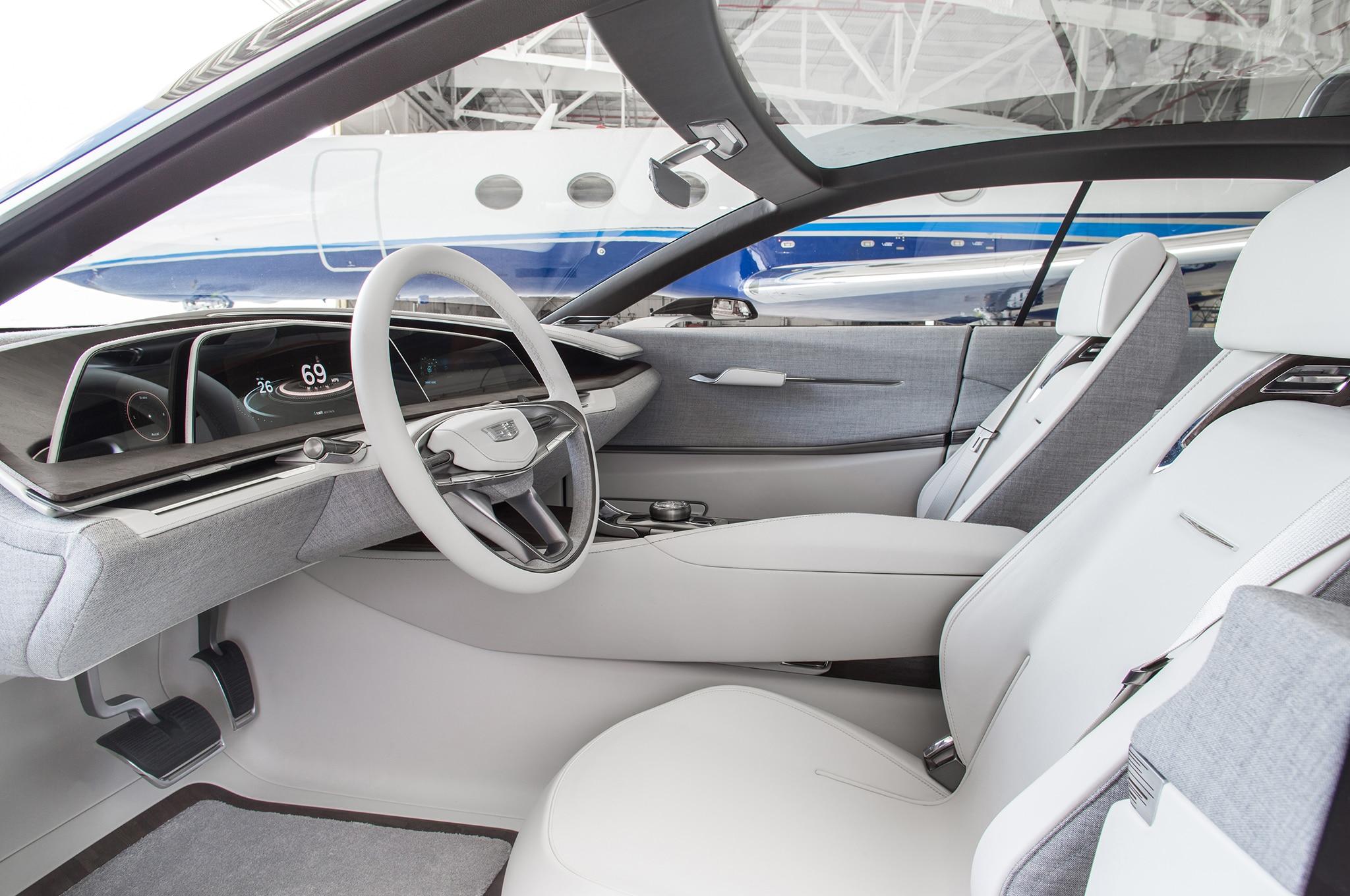 Cadillac Escala concept interior