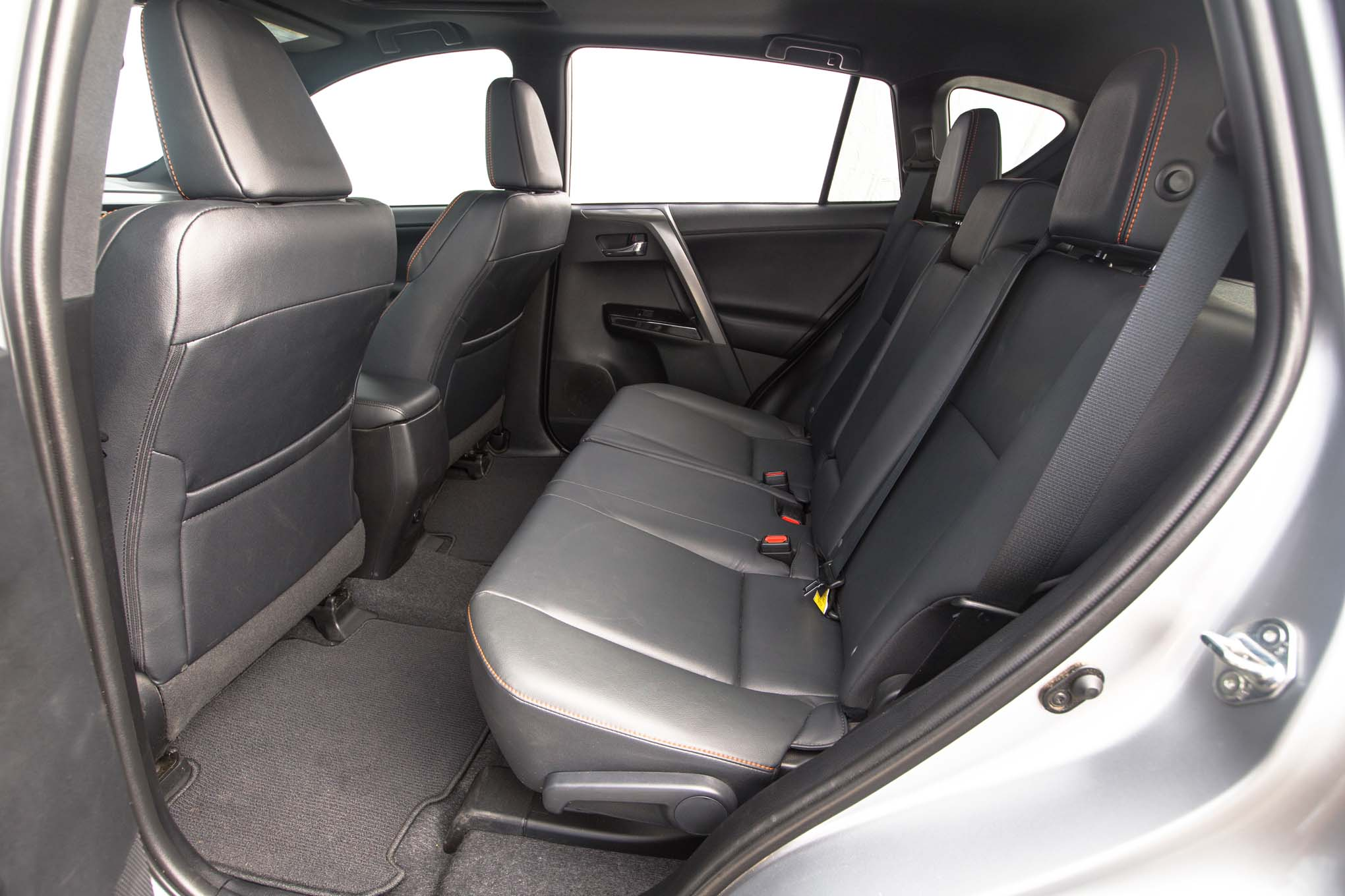 2016 Toyota RAV4 SE rear interior seats