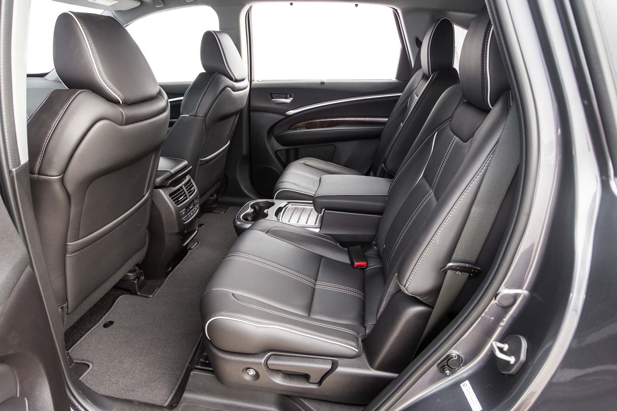 2017 Acura Mdx Sh Awd Rear Interior Seats