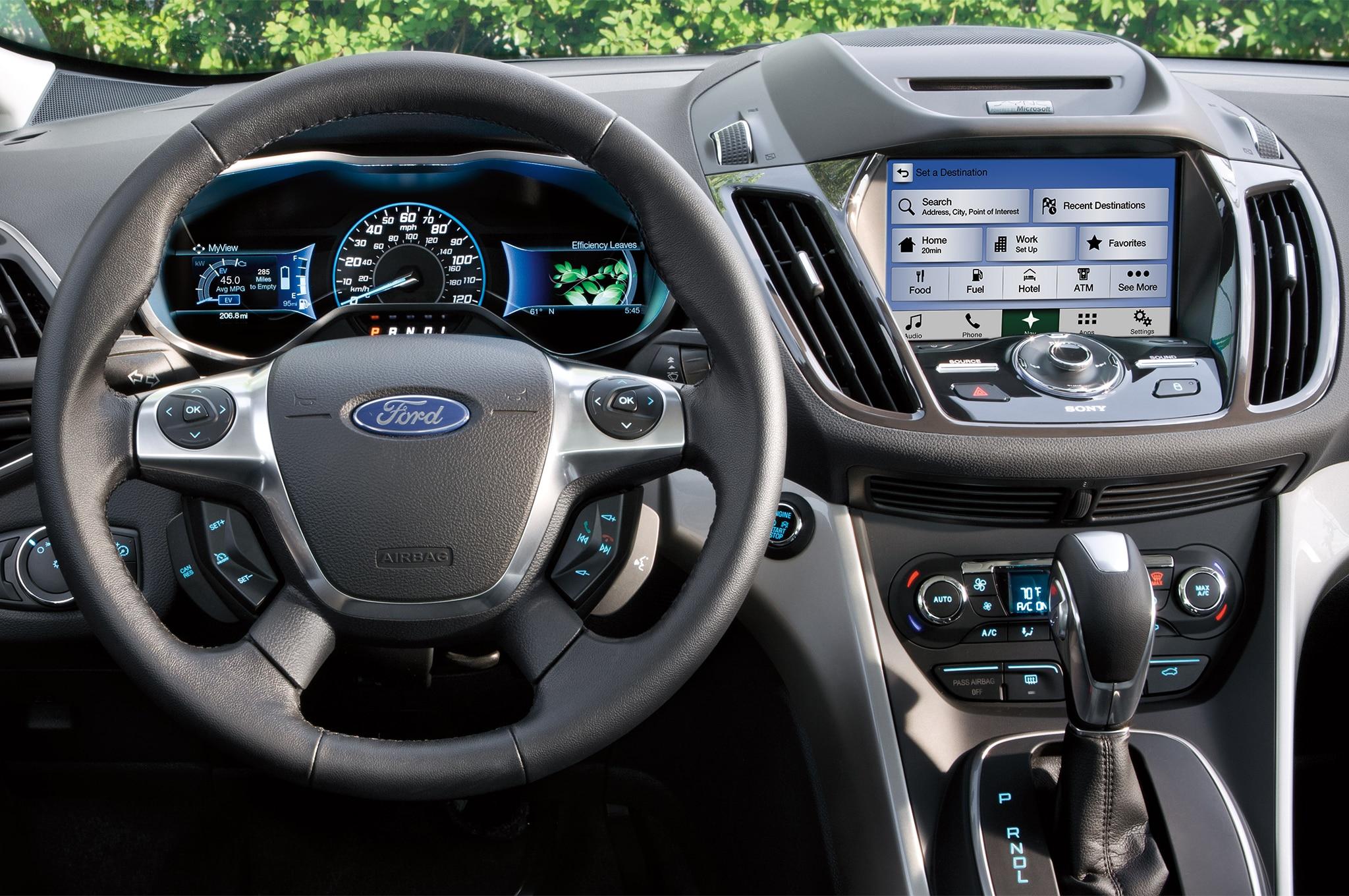 2017 Ford C Max Hybrid Interior 7 Diciembre 2016