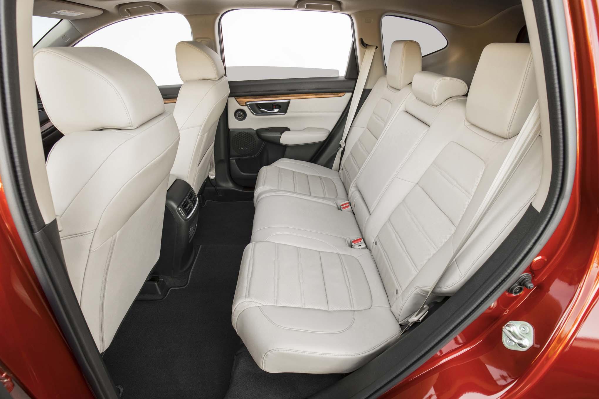 2017 Honda CR V rear interior seats 1