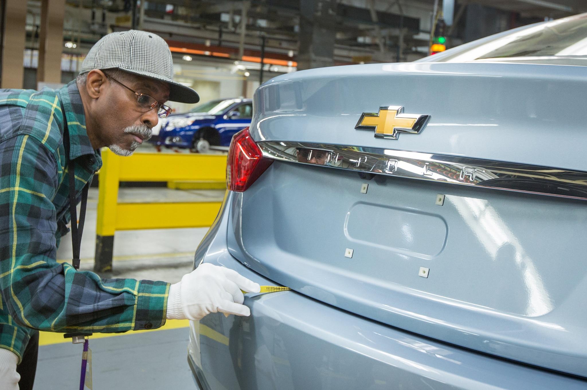 Detroit Hamtramck Plant Chevrolet Impala