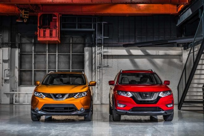 2017 Nissan Rogue Sport front end