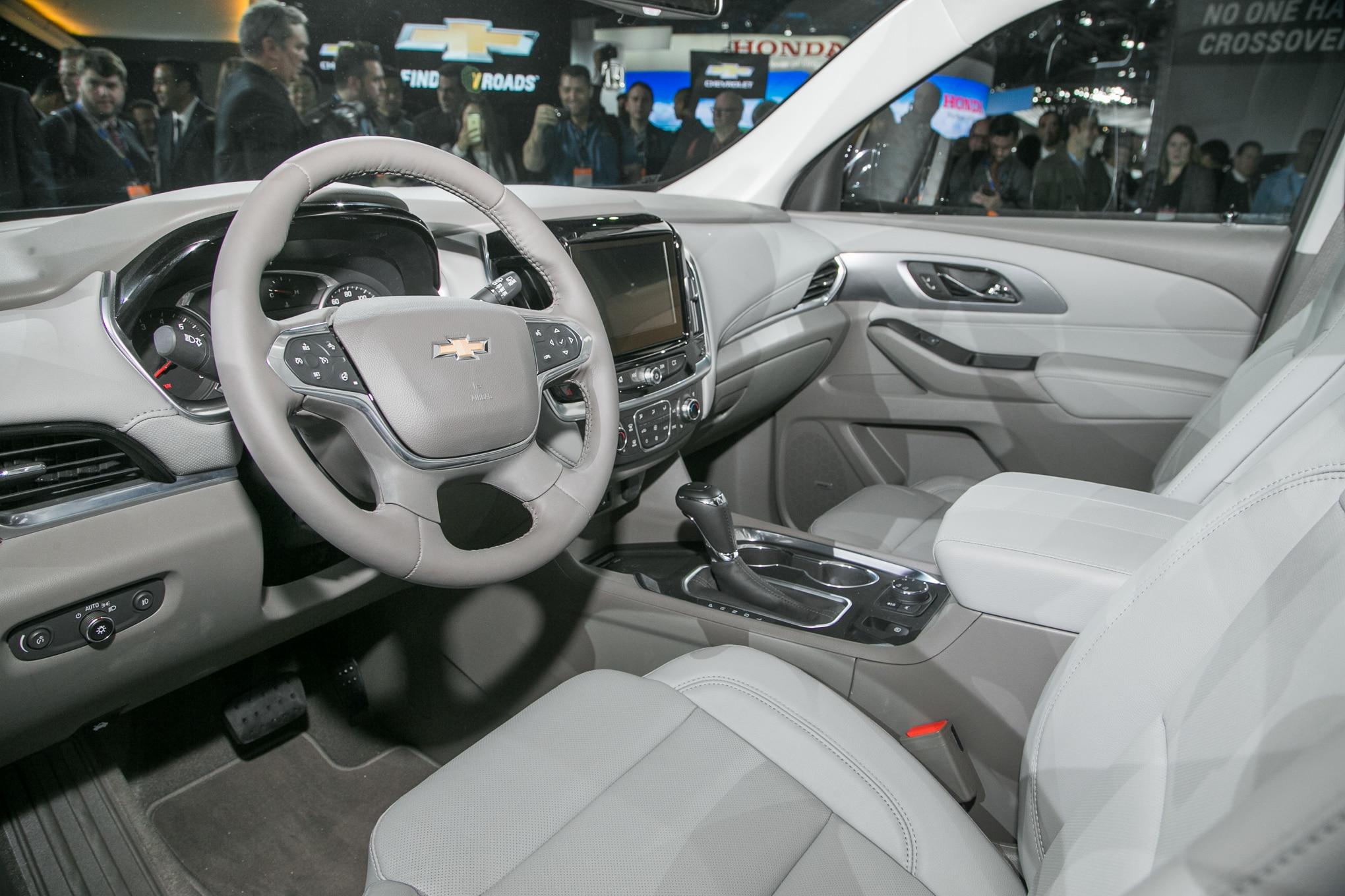 Chevrolet Traverse 2018: Primer Vistazo - Motor Trend en ...