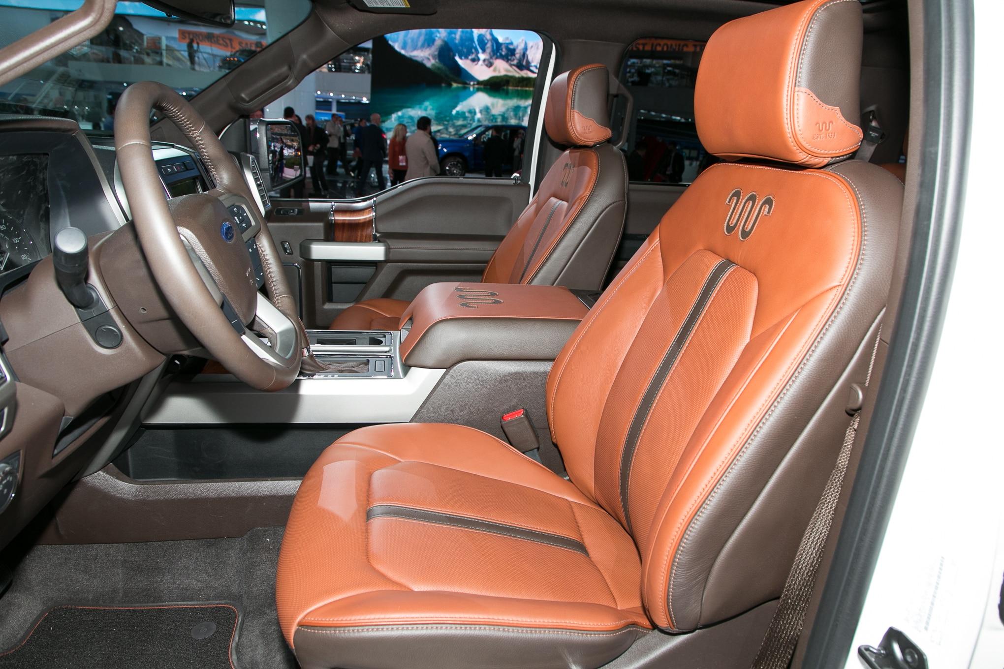 Ford F 150 Interior >> Ford F-150 2018: Primer Vistazo - Motor Trend en Español
