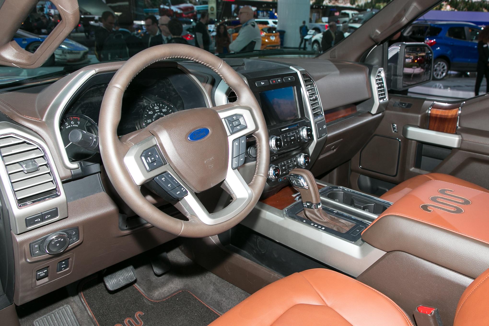 2018 Ford F 150 King Ranch Interior 10 Enero 2017 Carol Ngo