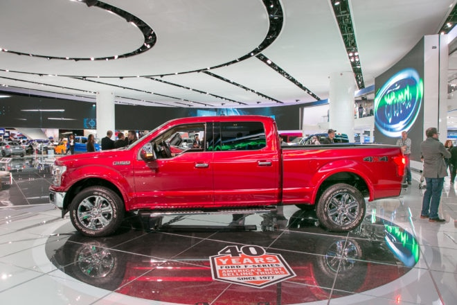 2018 Ford F 150 side