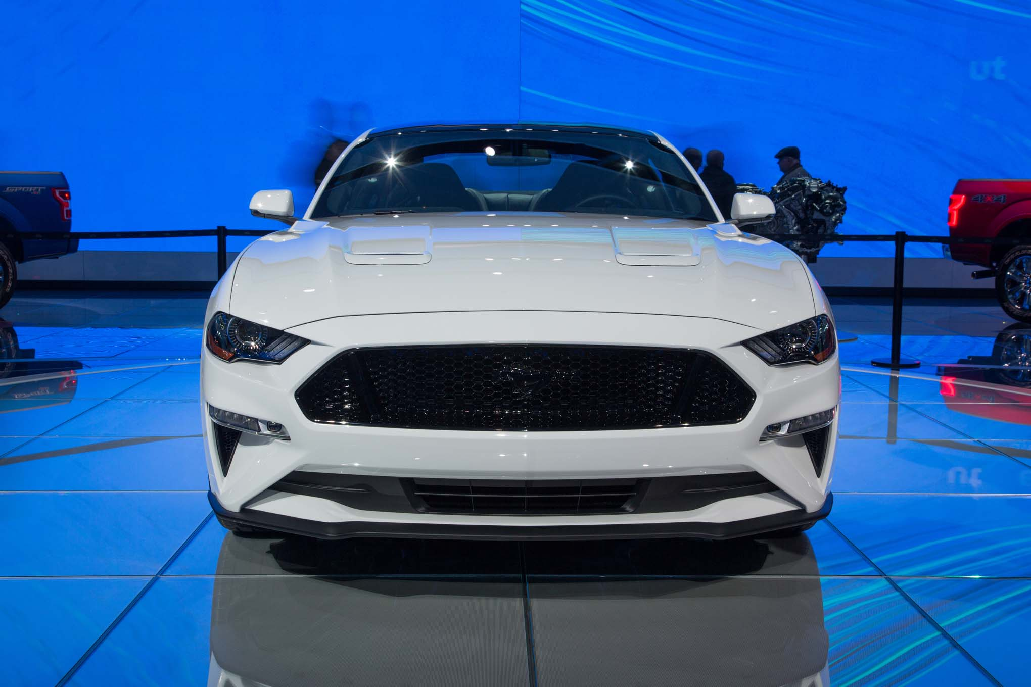 2018 Ford Mustang Gt Front End