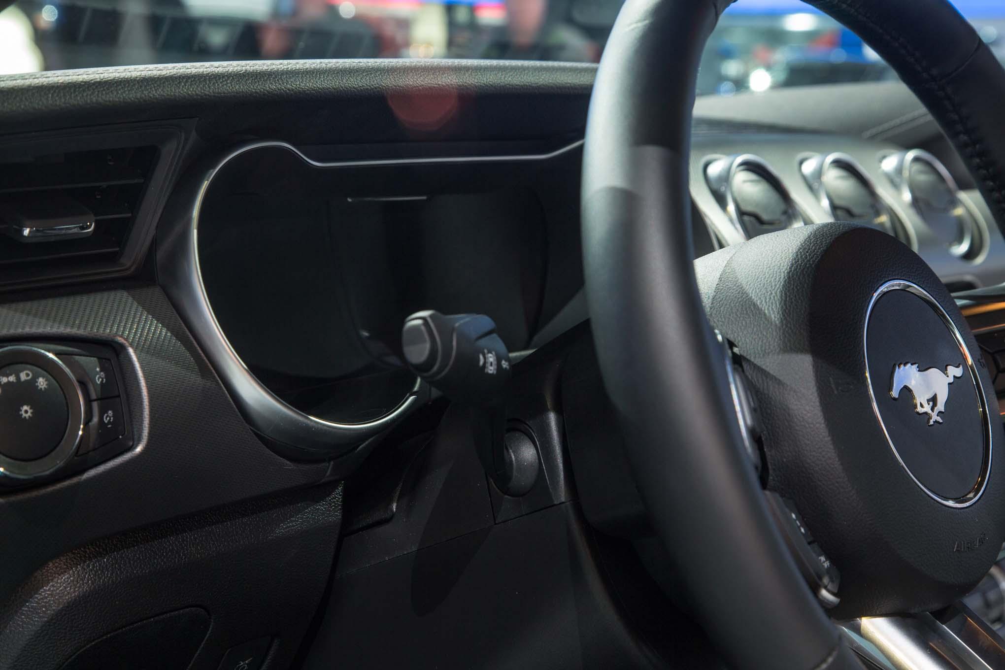2018 Ford Mustang Gt Interior Cluster 1 Motor Trend En Espa Ol