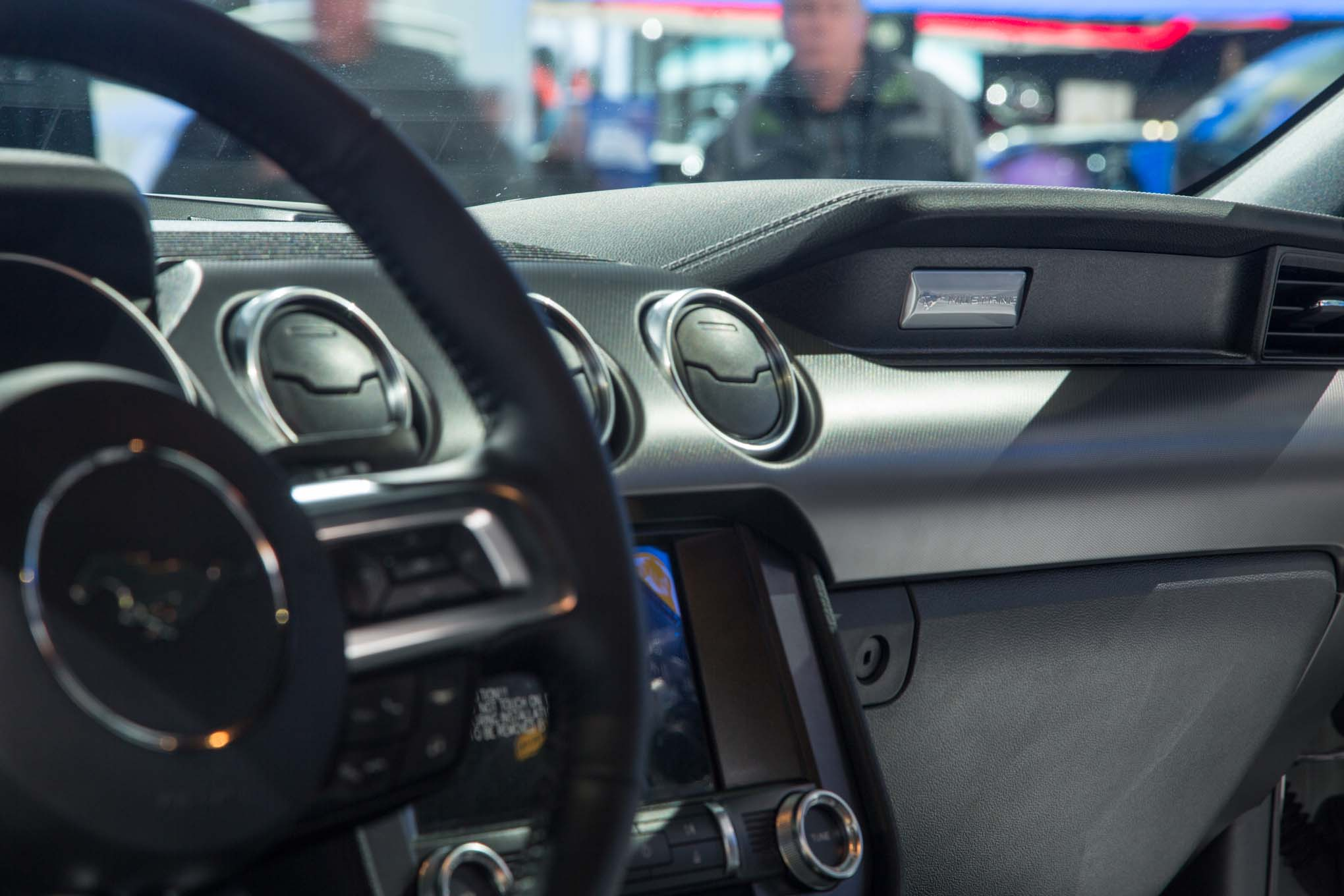 2018 Ford Mustang Gt Interior Dashboard 1
