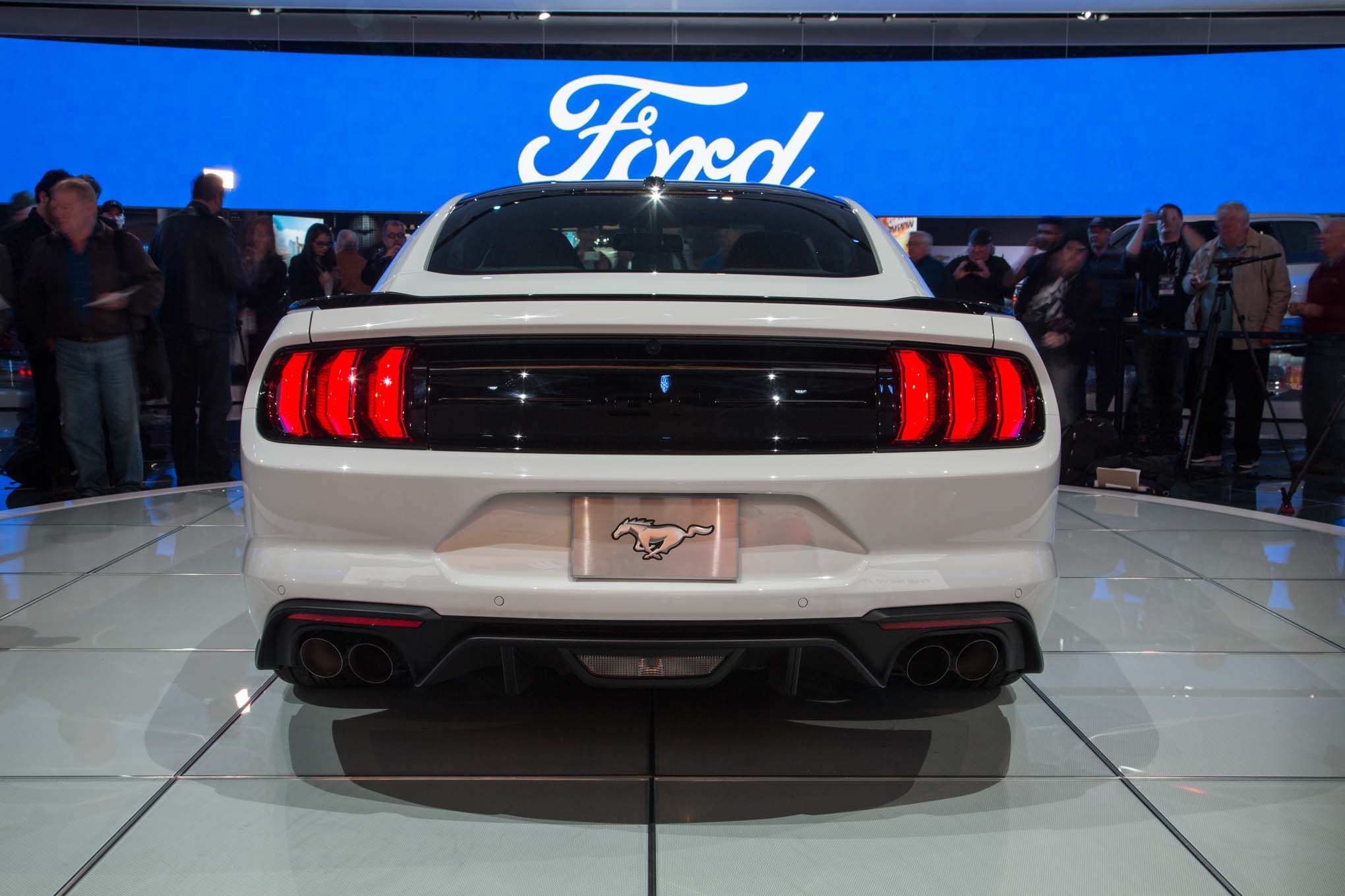 2018 Ford Mustang Gt Rear End 1