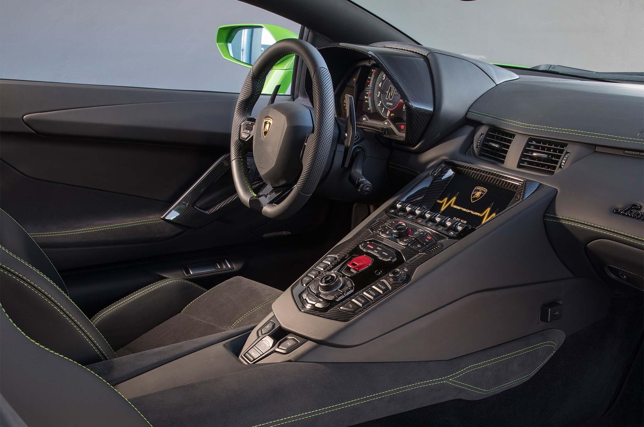 2018 Lamborghini Aventador S Interior 02 1 Motor Trend En Espanol
