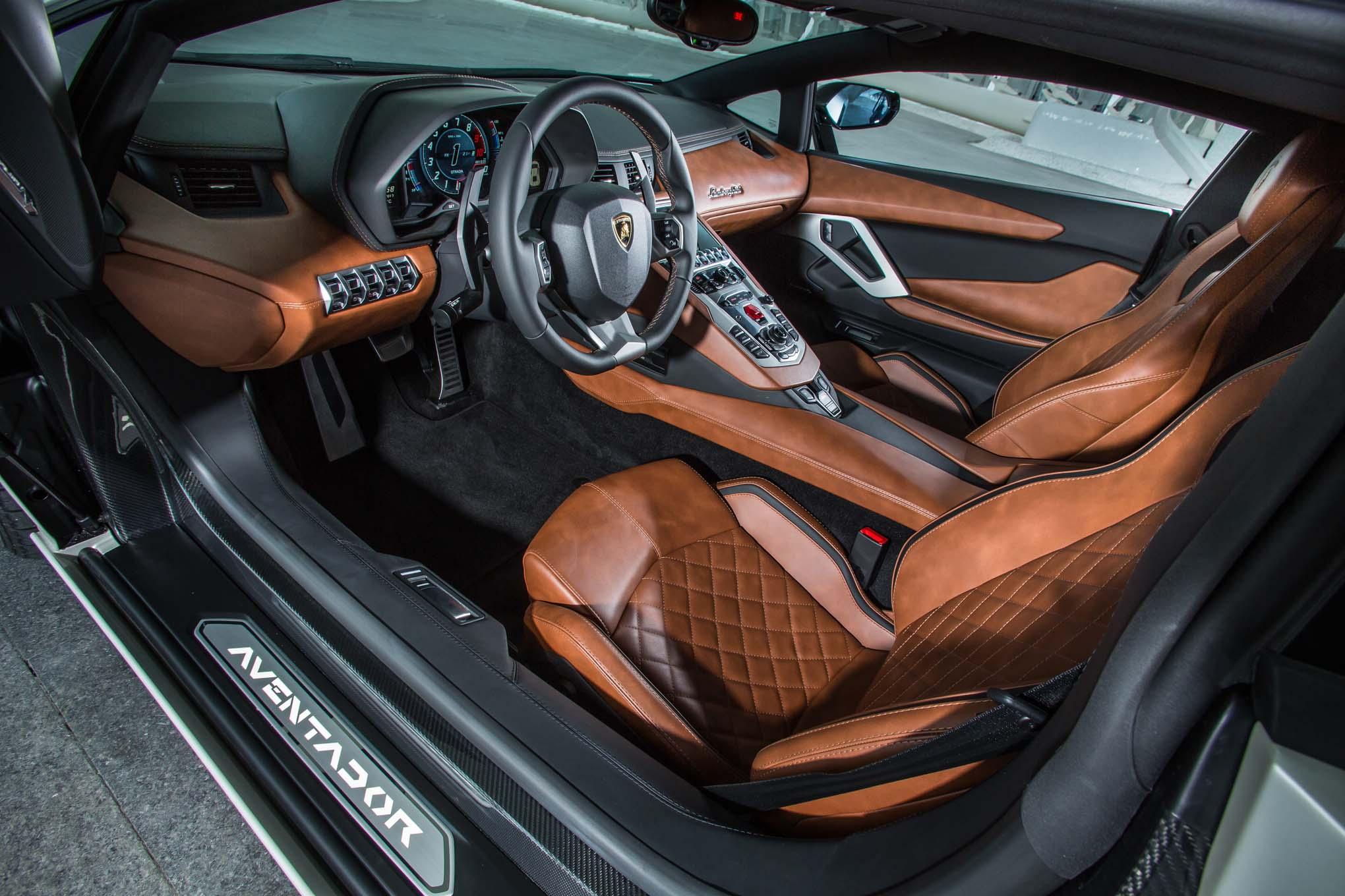 2018 Lamborghini Aventador S Interior 03 Motor Trend En Espanol