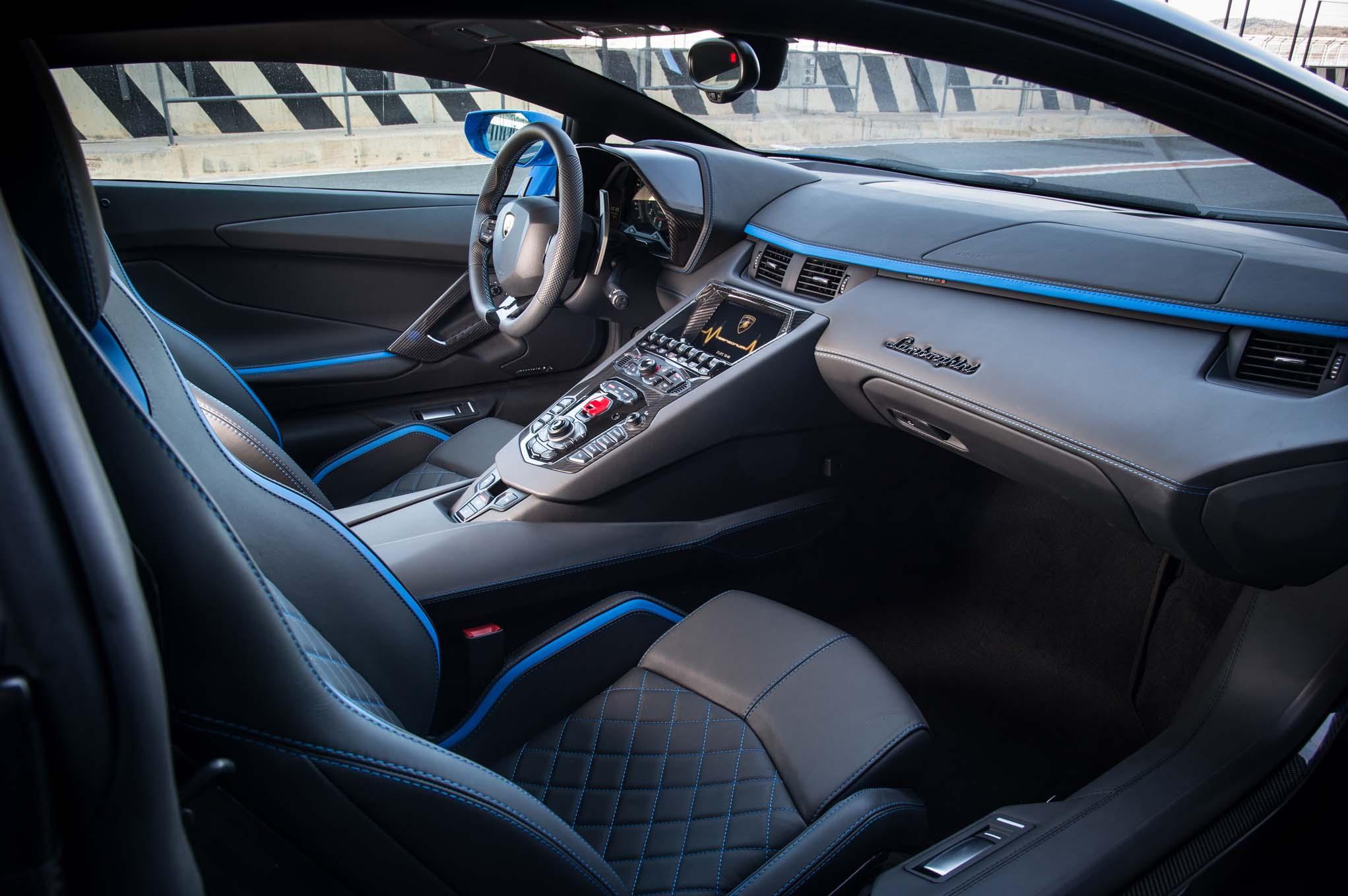 2018 Lamborghini Aventador S Interior Motor Trend En Espanol