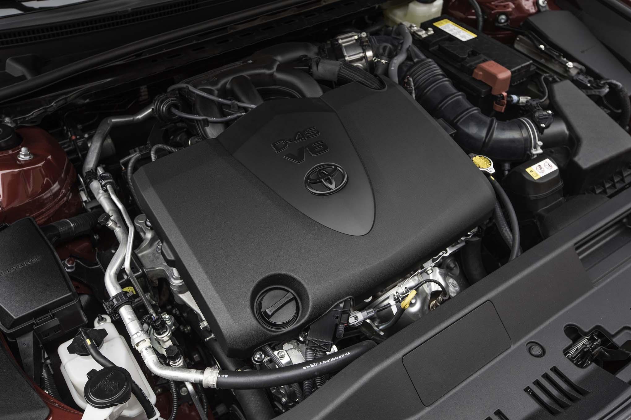 2018 Toyota Camry Xse V 6 Engine