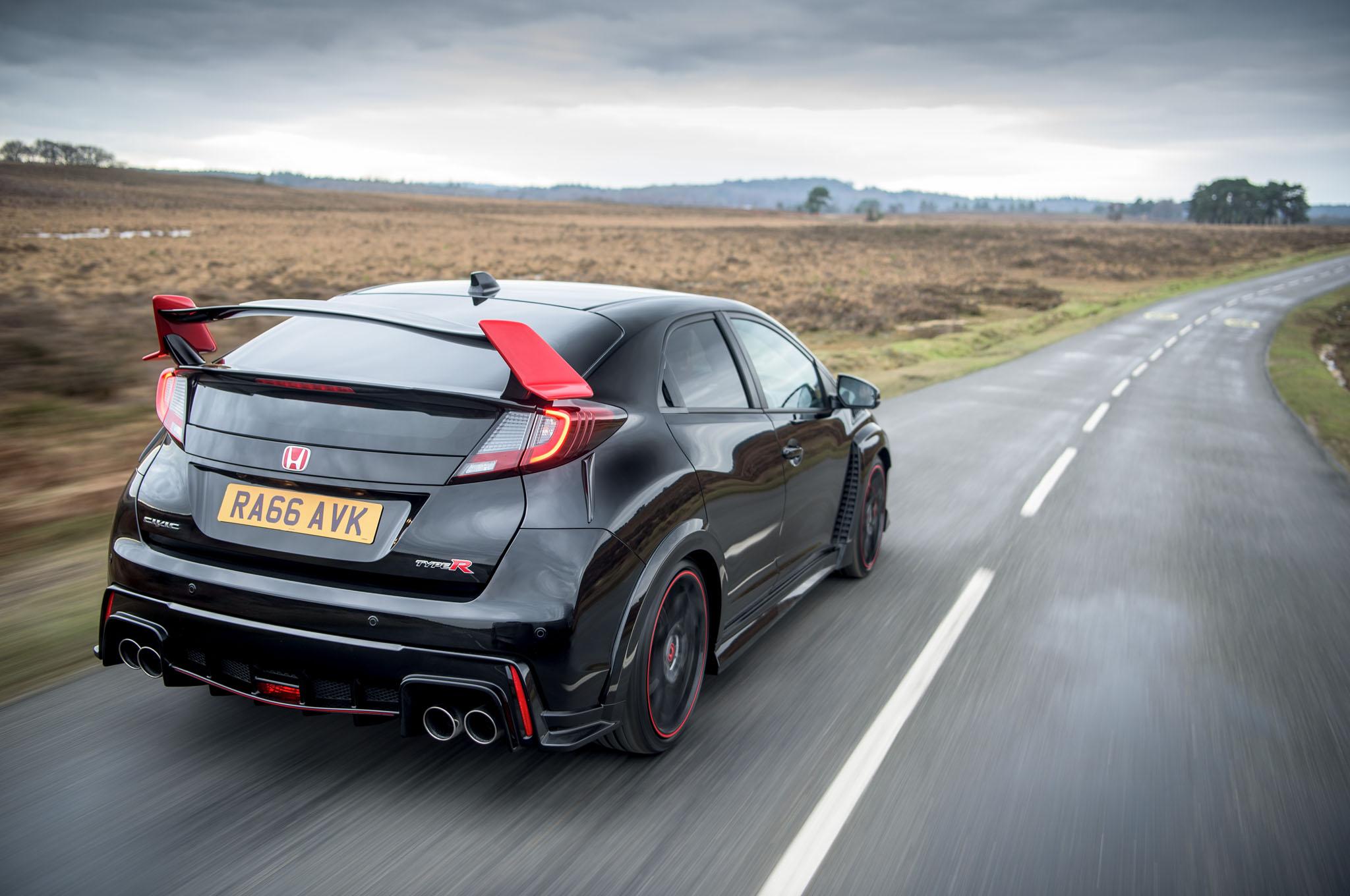 Honda Civic Type R Black Edition Rear