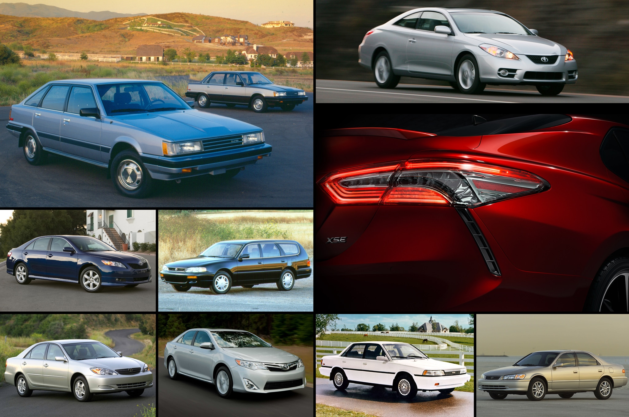 Toyota Camry History Graphic