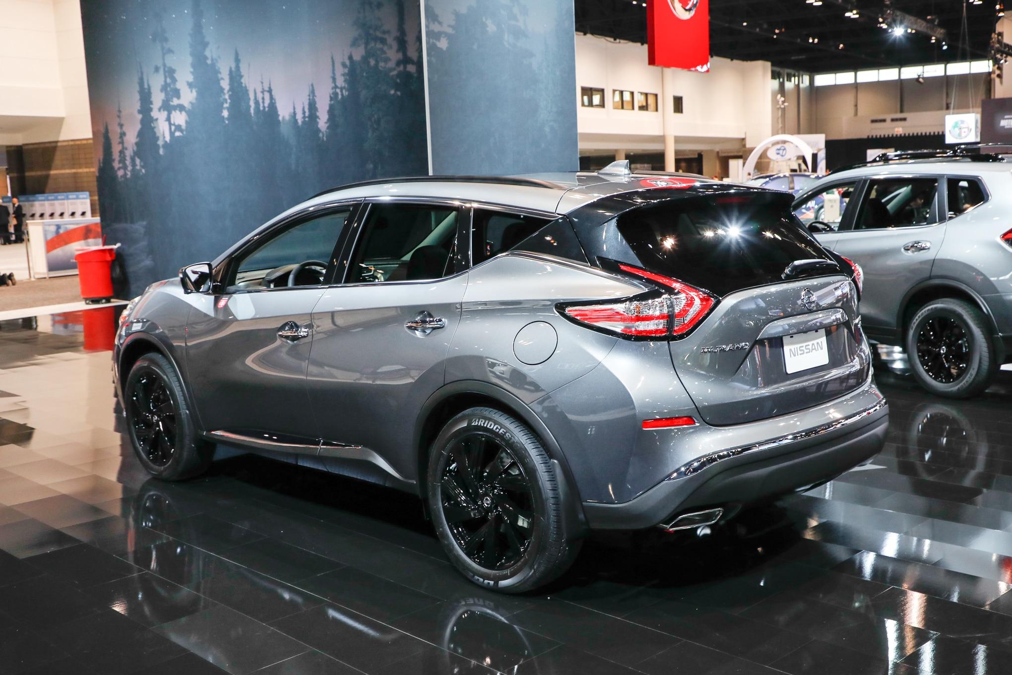 2017-Nissan-Murano-Platinum-Midnight-Edition-rear-three ...