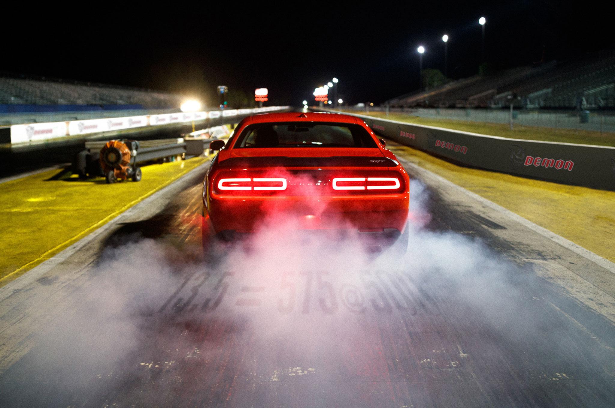2018 Dodge Challenger SRT Demon Suspension Teaser