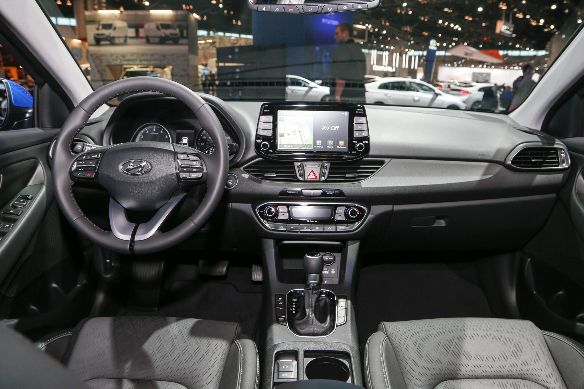 2018 Hyundai Elantra Gt Hatchback Interior View 2 Motor