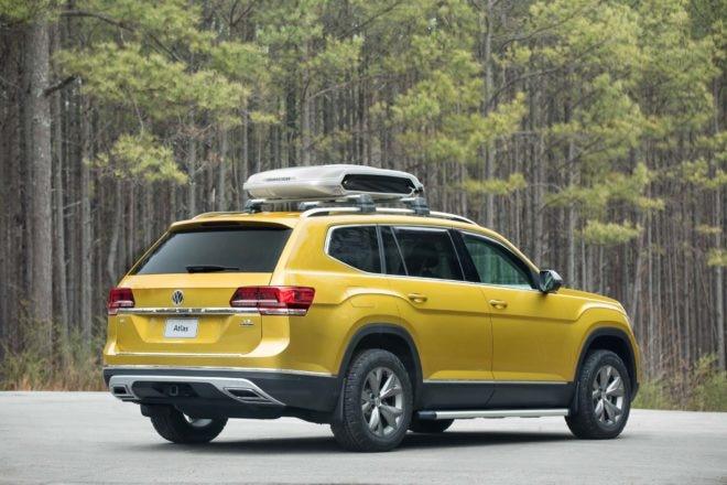 Volkswagen Atlas Weekend concept rear three quarter