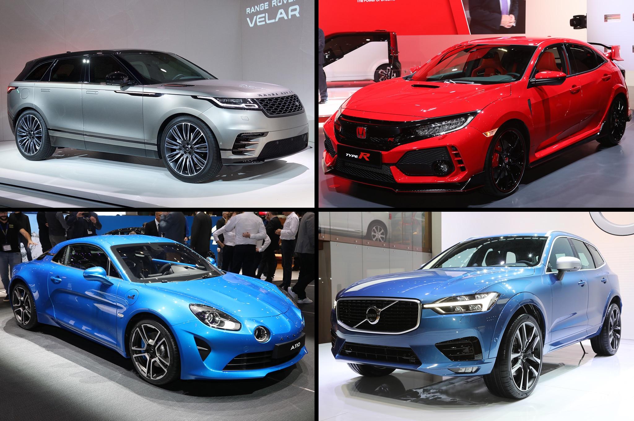 2017 Geneva Motor Show Favorites Graphic