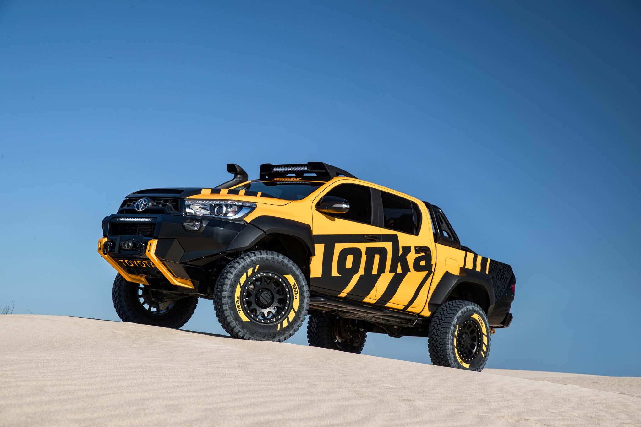 Toyota Hilux Concept Est U00e1 Lista Para Jugar En La Arena