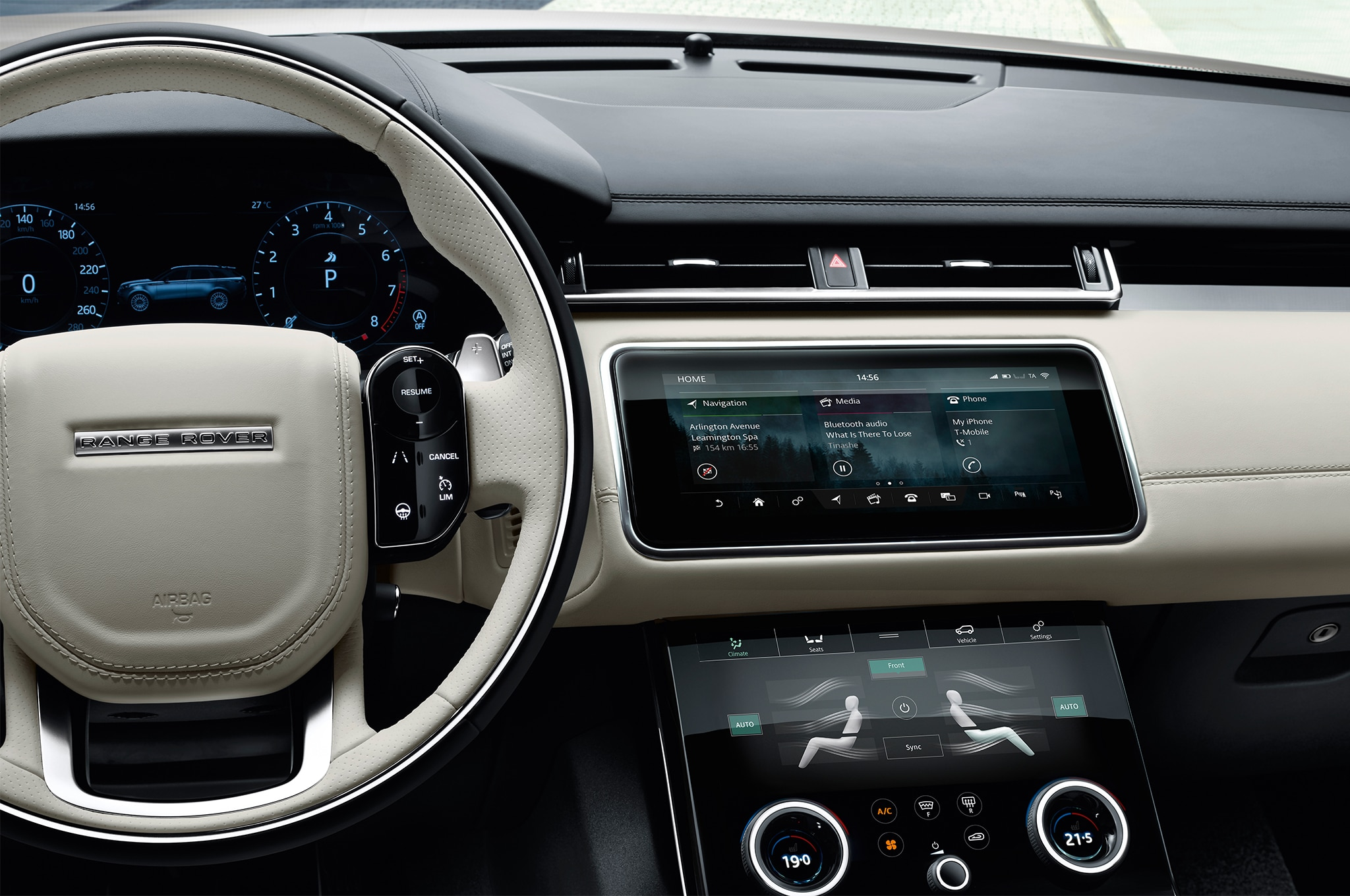 2018 Land Rover Range Rover Velar Interior Center Stack 1