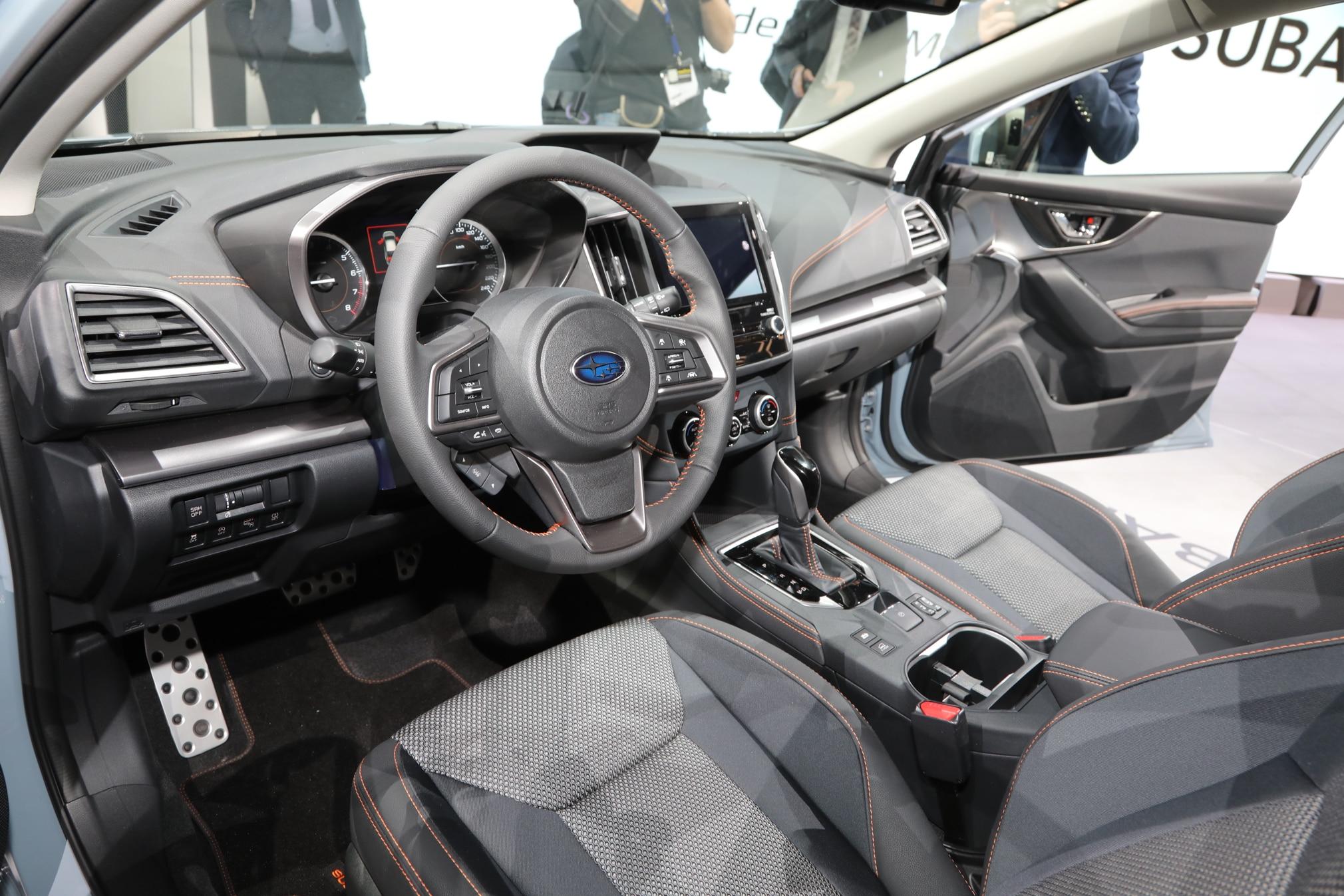 2018 Subaru Crosstrek Euro Spec Interior 7 Marzo 2017 Miguel Cortina