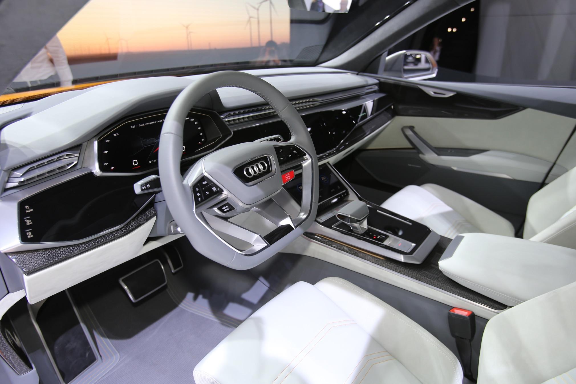Audi-Q8-Sport-concept-interior-view - Motor Trend en Español