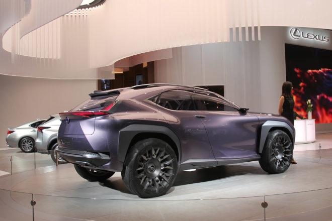 Lexus UX Concept Detroit Auto Show