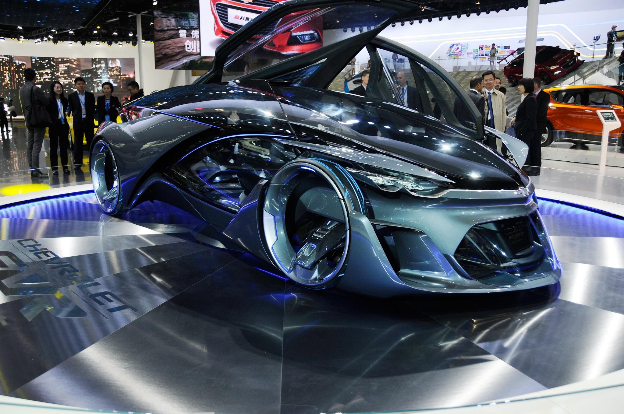 Chevrolet FNR-X Concept se presenta en el Salón de ...