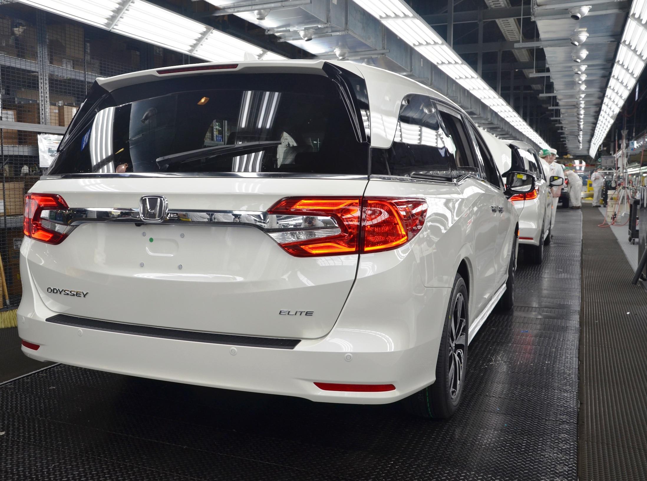 Honda Odyssey 2018 Arranca Producción En Alabama