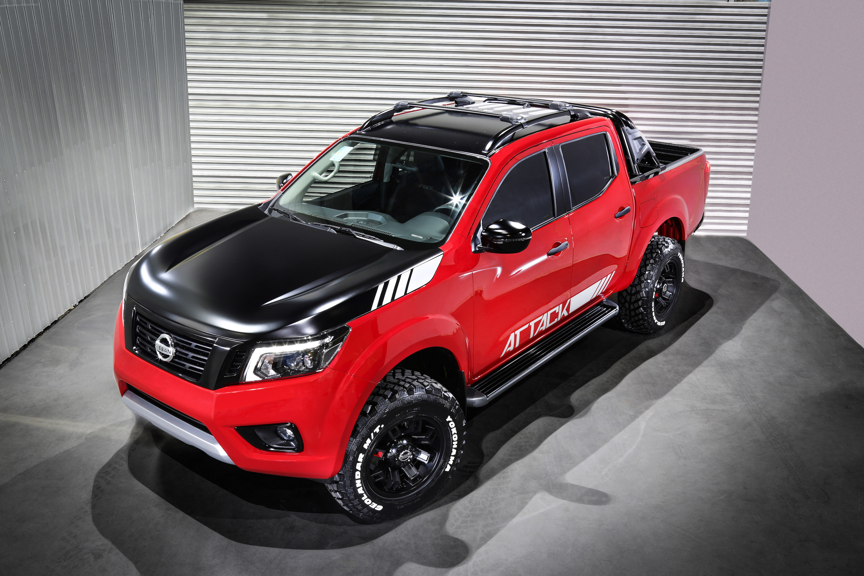 Nissan NP300 Frontier Attack Concept sorprende desde ...