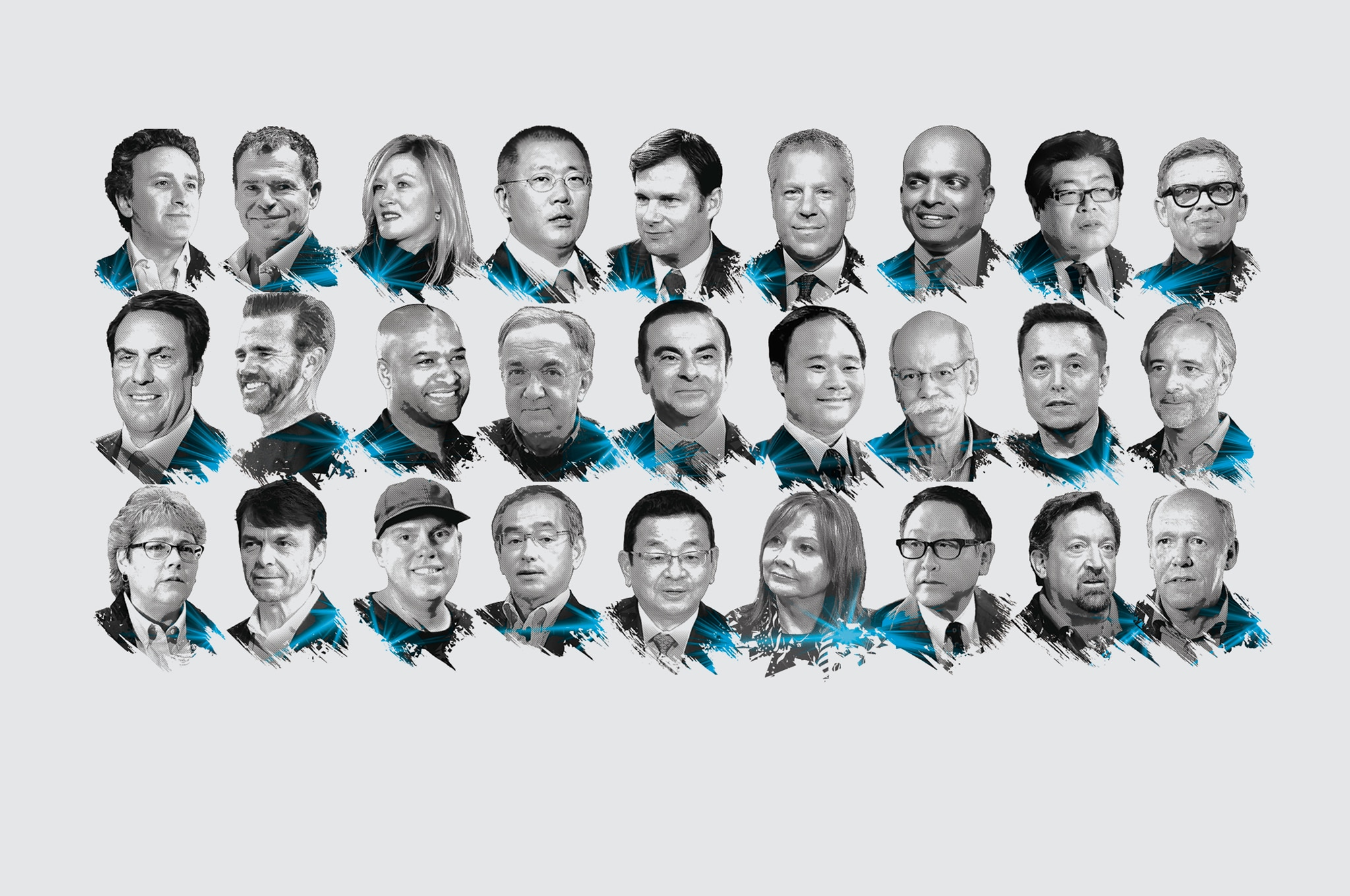 2018 Power List Graphic