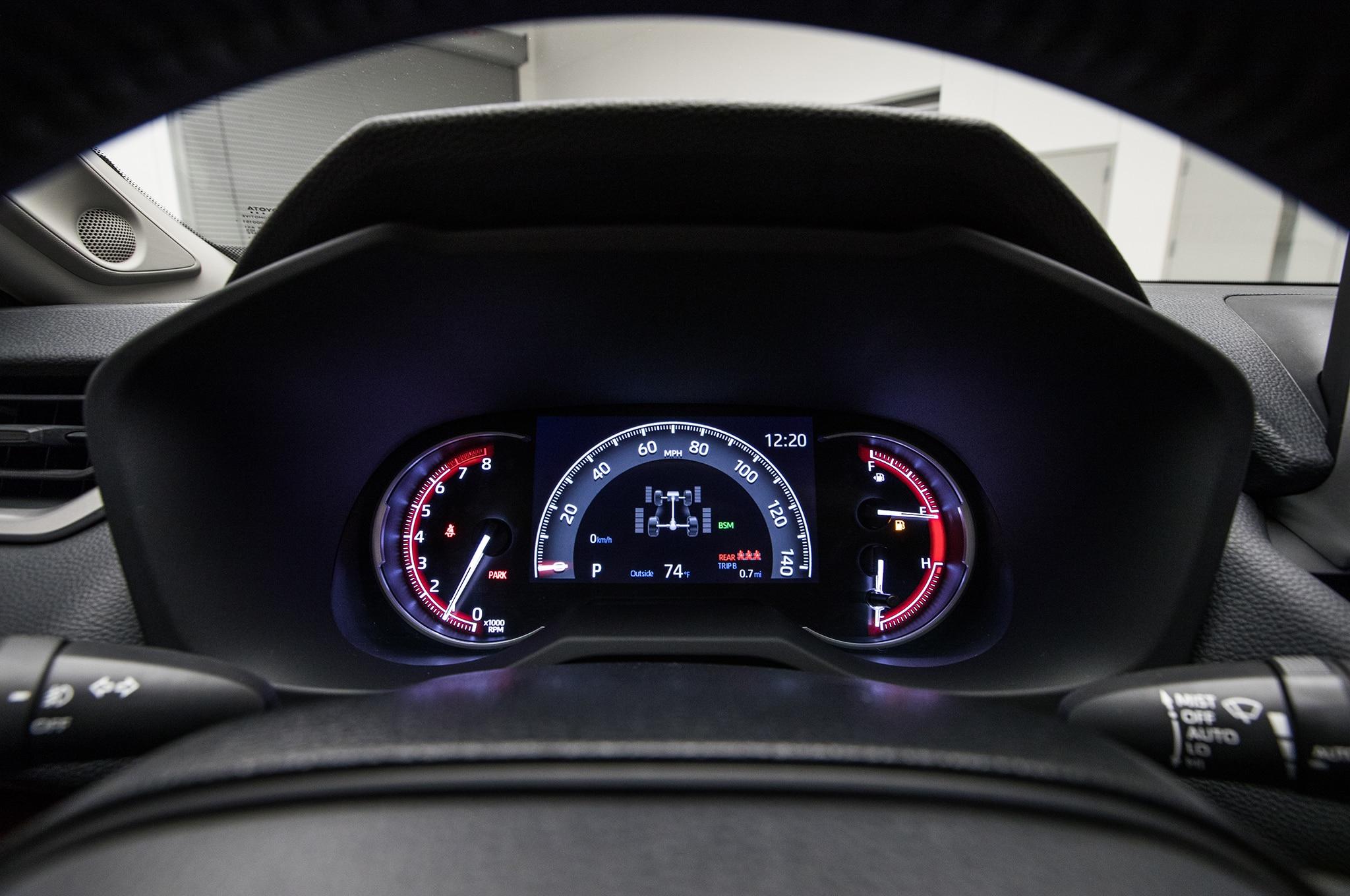 2019 Toyota RAV4 Hybrid instrument cluster 01 - Motor ...