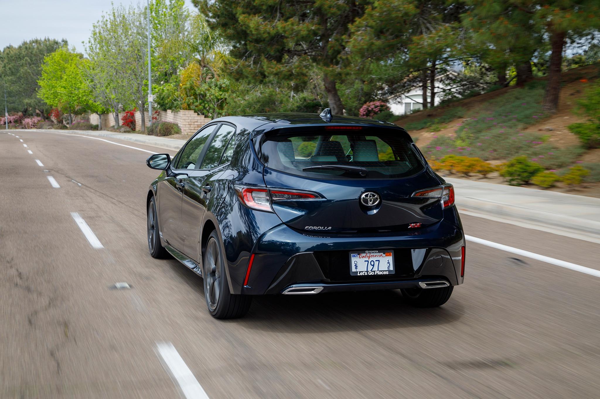 Toyota Corolla Hatchback 2019 Primer Manejo Motor Trend En Espanol