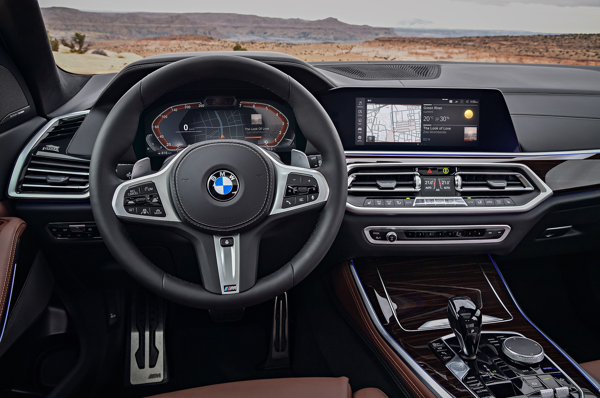 2019 Bmw X5 Front Interior Drivers Side Motor Trend En Espa 241 Ol