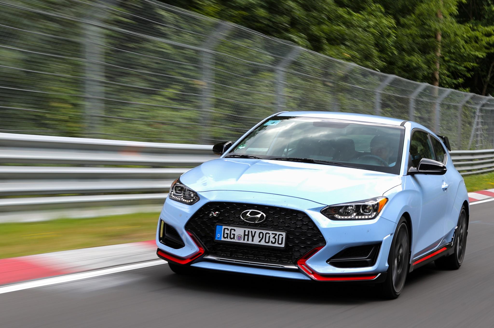 2019 Hyundai Veloster N Nurburgring Circuit Driving 26
