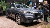 2020 Subaru Outback Front View At Show